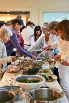The Foraged Feast- photo by Maryjane Johnston